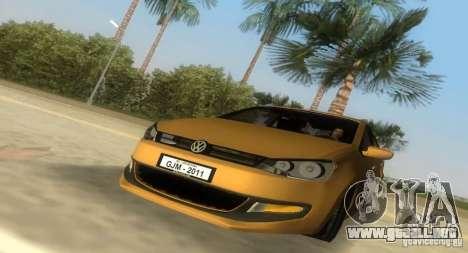 Volkswagen Polo 2011 para GTA Vice City vista lateral izquierdo