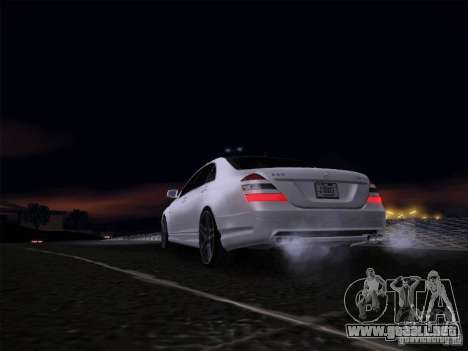 Mercedes-Benz S65 AMG V2.0 para la visión correcta GTA San Andreas