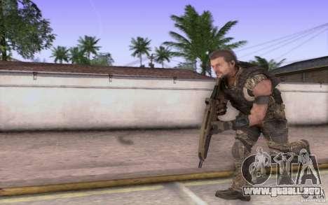 HK XM8 eotech para GTA San Andreas sucesivamente de pantalla