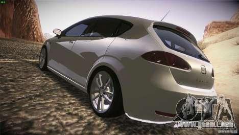 Seat Leon Cupra para la visión correcta GTA San Andreas