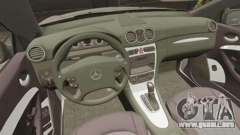 Mercedes-Benz CLK 55 AMG Stock para GTA 4 vista superior
