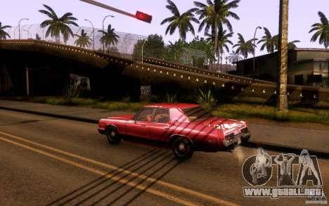 Dodge Monaco para GTA San Andreas left