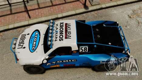 Toyota Tundra Karin Sahara v3.0 para GTA 4 visión correcta