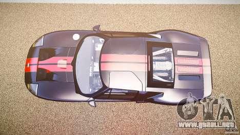 Ford GT1000 2006 Hennessey [EPM] STREET BURNING para GTA 4 visión correcta