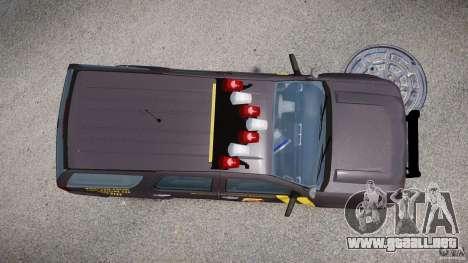 Chevrolet Tahoe Indonesia Police para GTA 4 visión correcta