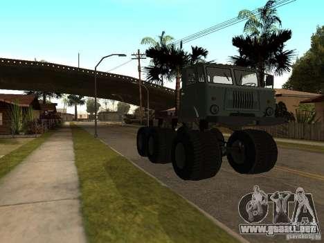 GAZ 66 Saiga para GTA San Andreas left