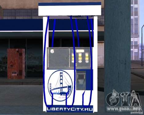Relleno de Liberty City para GTA San Andreas tercera pantalla