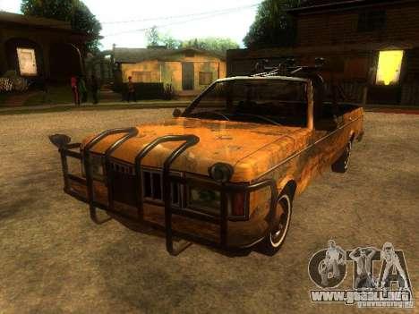 Regina War para GTA San Andreas vista posterior izquierda