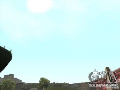 Un realista Timecyc para GTA San Andreas sexta pantalla