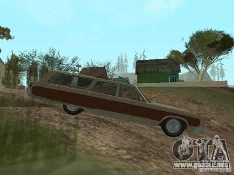 Chrysler Town and Country 1967 para GTA San Andreas left