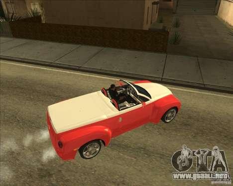 Chevrolet SSR para la visión correcta GTA San Andreas