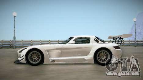 Mercedes-Benz SLS AMG GT3 para GTA San Andreas vista posterior izquierda