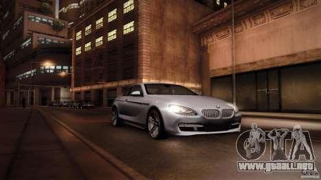 BMW 640i Coupe para la visión correcta GTA San Andreas