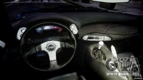 TVR Sagaris para GTA 4 visión correcta