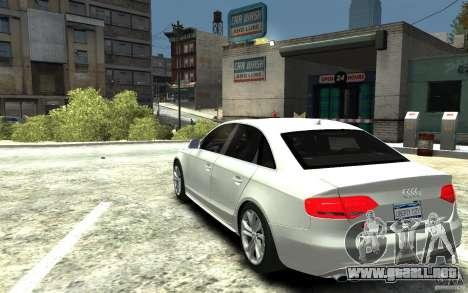 Audi S4 2010 v.1.0 para GTA 4 Vista posterior izquierda