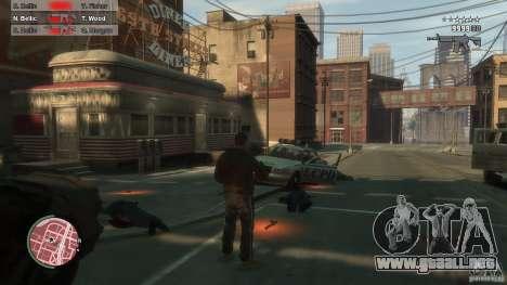 First Person Shooter Mod para GTA 4 octavo de pantalla