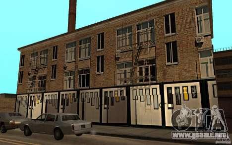 Casa de Rusia en Idlvude para GTA San Andreas segunda pantalla