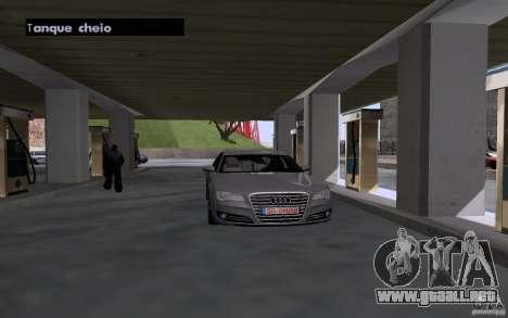 Auto petrolero en gasolinera para GTA San Andreas tercera pantalla