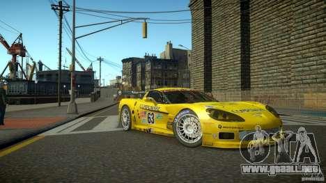 Chevrolet Corvette C6-R v2.0 para GTA 4 left