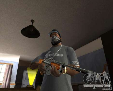 RAPTOR Sniper Rifle from Serious Sam para GTA San Andreas segunda pantalla