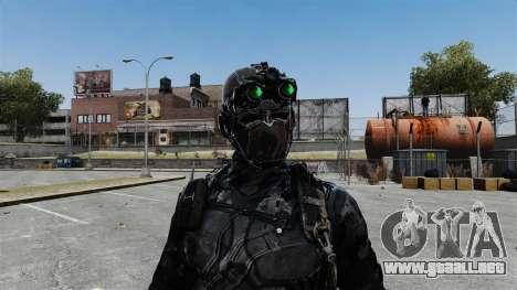 Sam Fisher v10 para GTA 4 sexto de pantalla