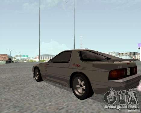 Mazda Savanna RX-7 FC3S para GTA San Andreas left