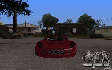 Lotus Elise from NFSMW para GTA San Andreas left