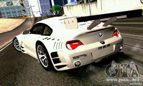 BMW Z4 E85 M GT 2008 V1.0 para GTA San Andreas left