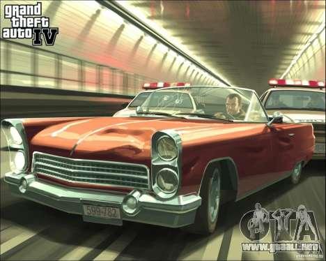 Imágenes de arranque en el estilo del GTA IV para GTA San Andreas sexta pantalla