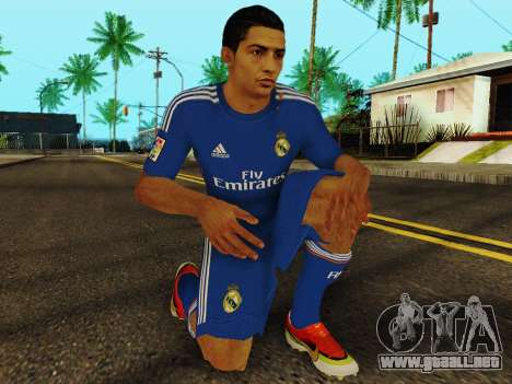 Cristiano Ronaldo v2 para GTA San Andreas quinta pantalla