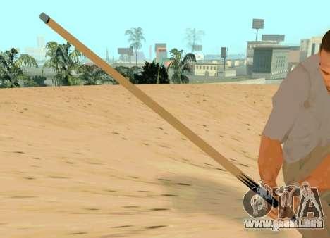 Nueva cue para GTA San Andreas tercera pantalla