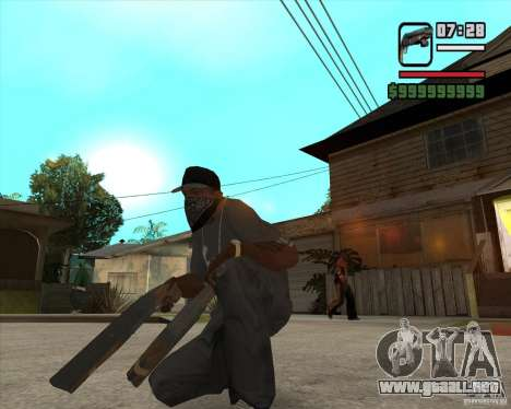 Hudra para GTA San Andreas segunda pantalla