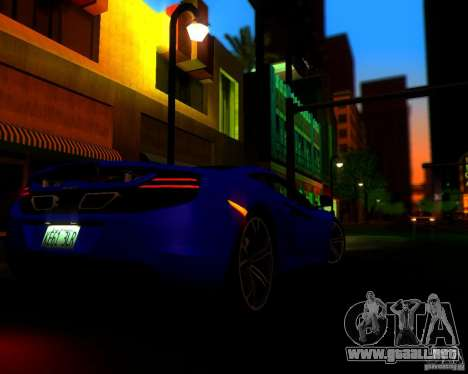 Real World ENBSeries v2.0 para GTA San Andreas sucesivamente de pantalla