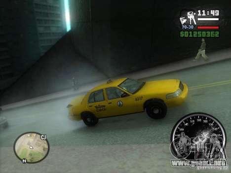 Lluvia helada para GTA San Andreas segunda pantalla