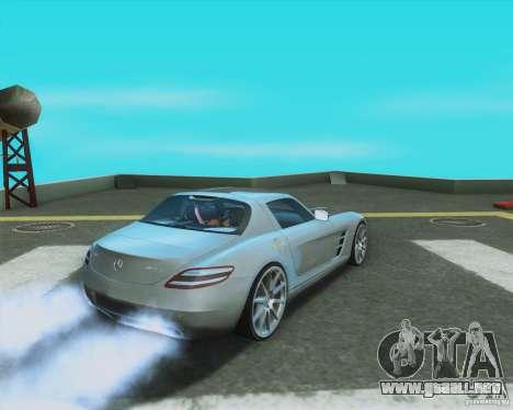 Mercedes-Benz SLS AMG 2010 v.1.0 para GTA San Andreas left