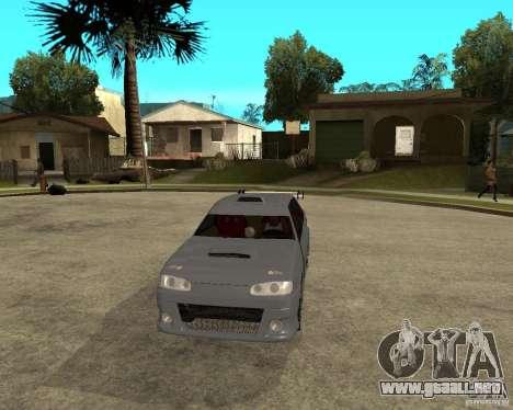 MCC VAZ 2115 para GTA San Andreas vista hacia atrás