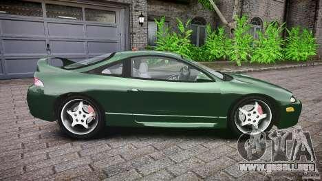 Mitsubishi Eclipse 1998 para GTA 4 vista lateral