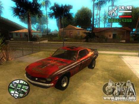 Hoja de FlatOut para GTA San Andreas