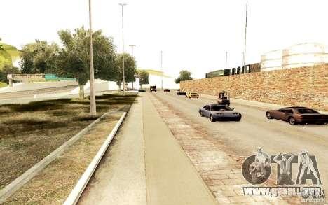 Un nuevo algoritmo para tráfico de vehículos para GTA San Andreas tercera pantalla