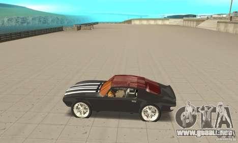 Pontiac Flamingo para GTA San Andreas left