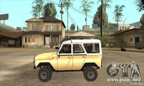UAZ 31514 para GTA San Andreas left