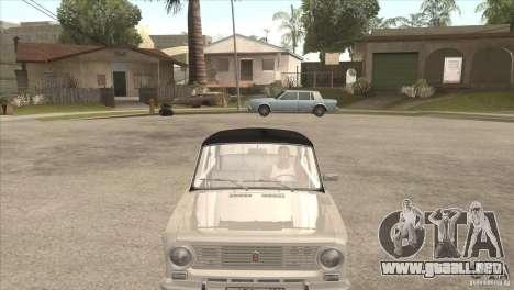 VAZ 2101 Dag para GTA San Andreas vista posterior izquierda