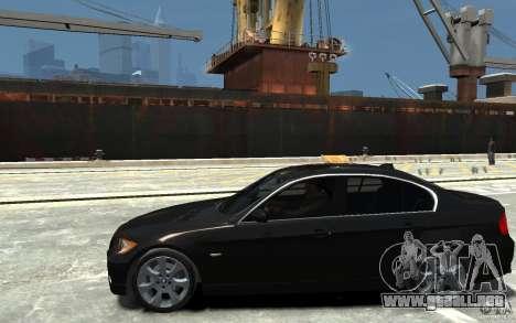 BMW 330i E90 para GTA 4 left