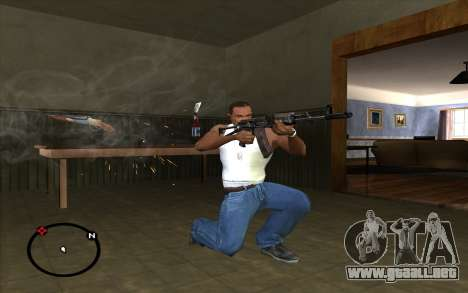 AK-74 para GTA San Andreas tercera pantalla