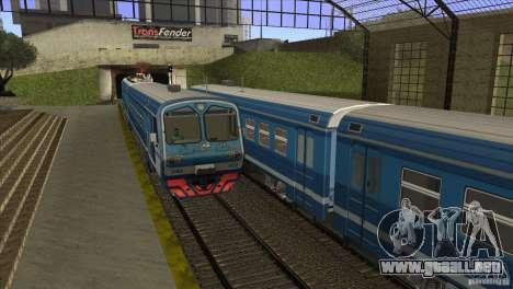 Un nuevo algoritmo de tren 5 para GTA San Andreas