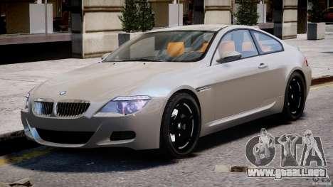 BMW M6 G-Power Hurricane para GTA 4 left