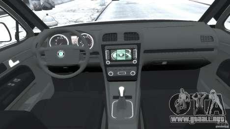 Skoda Octavia Scout Stock para GTA 4 visión correcta