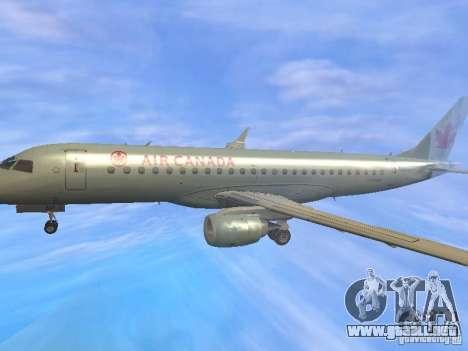 Embraer ERJ 190 Air Canada para la vista superior GTA San Andreas