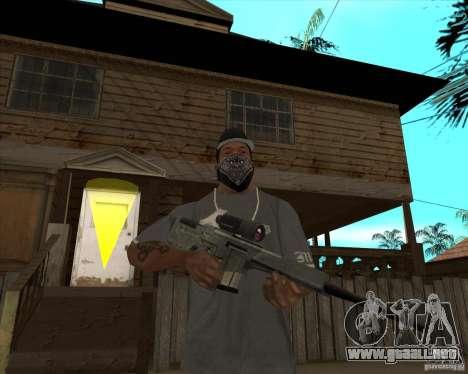 Resident Evil 4 weapon pack para GTA San Andreas séptima pantalla