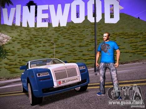 Niko Bellic Reload Beta 0.1 para GTA San Andreas sucesivamente de pantalla